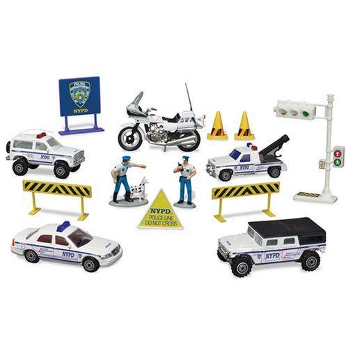 Daron New York Police Department Playset Police Toys New York Police Playset
