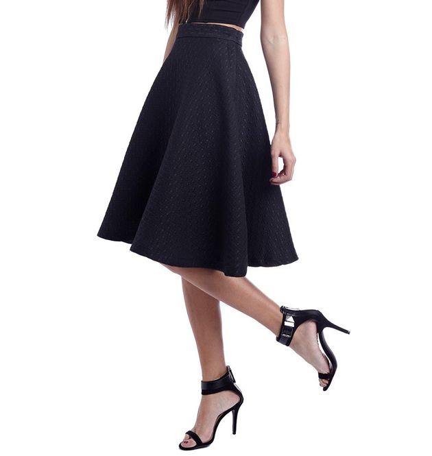 Patrones faldas / Falda media capa | costura | Pinterest | Skirts ...