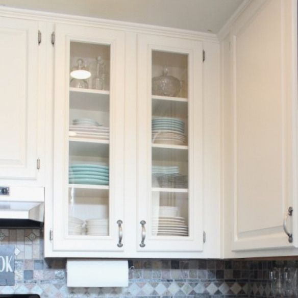 How to Add Glass to Cabinet Doors. Adding glass to cabinet ...