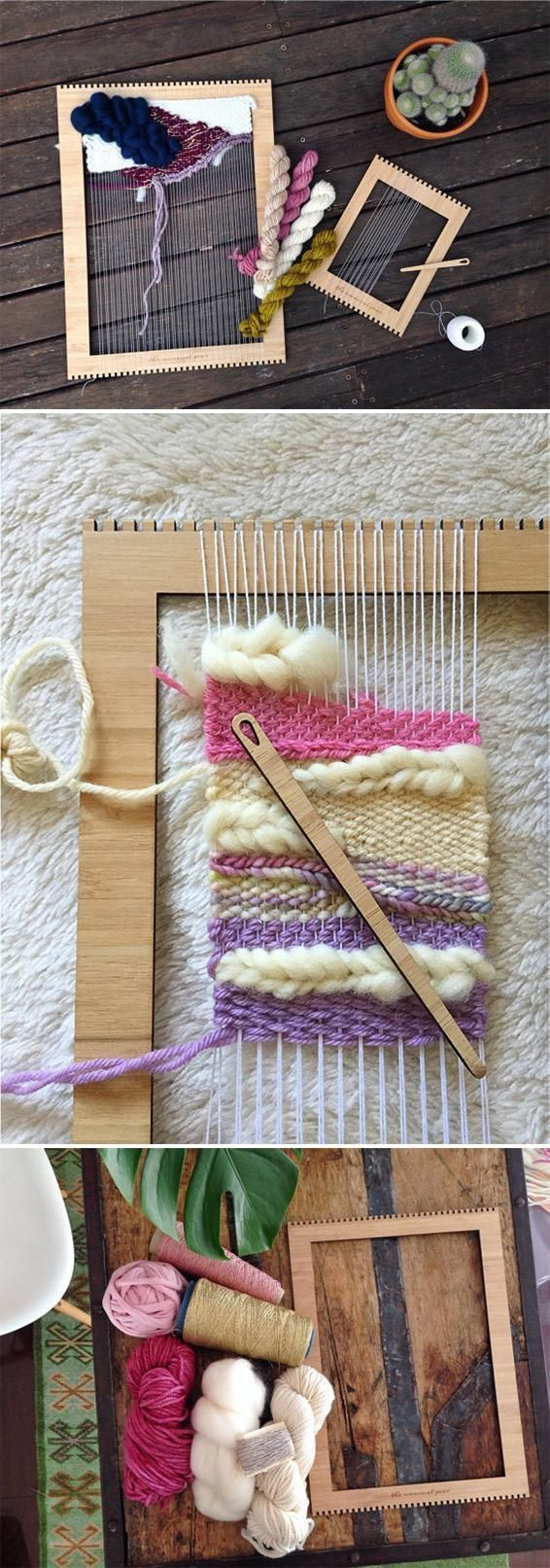 Get Hooked On A New Creative Hobby With A Weaving Loom Kit