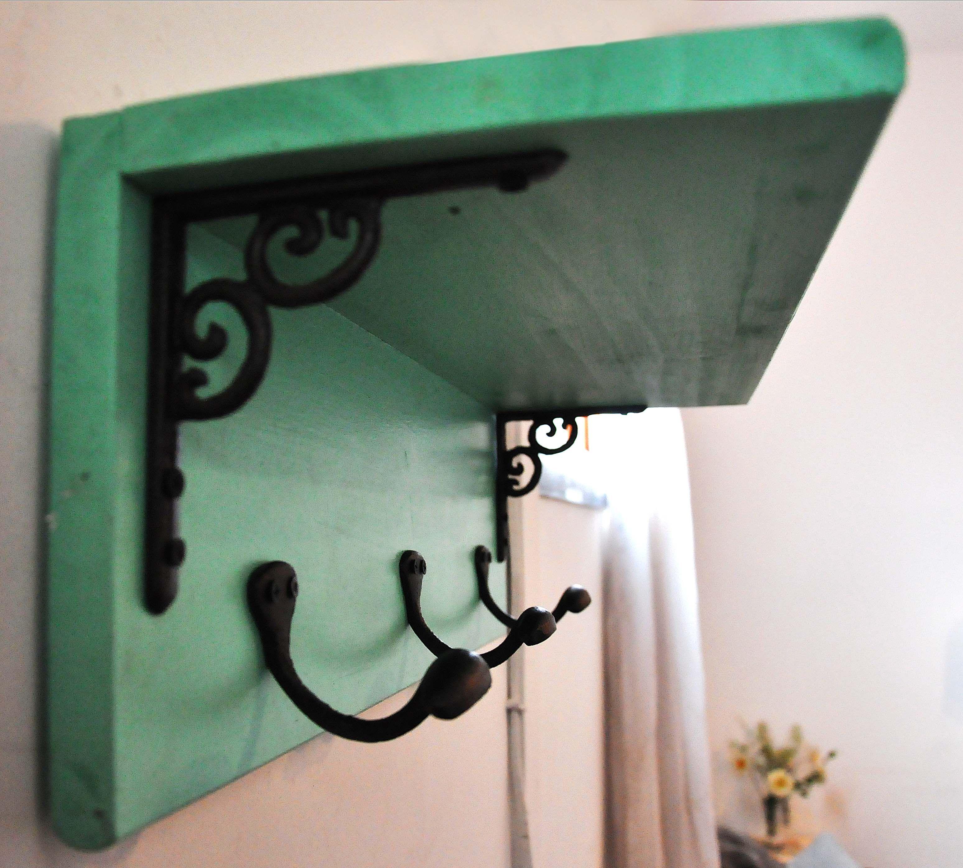Repisa perchero vintage y reciclado casa 614810 - Percheros pared vintage ...