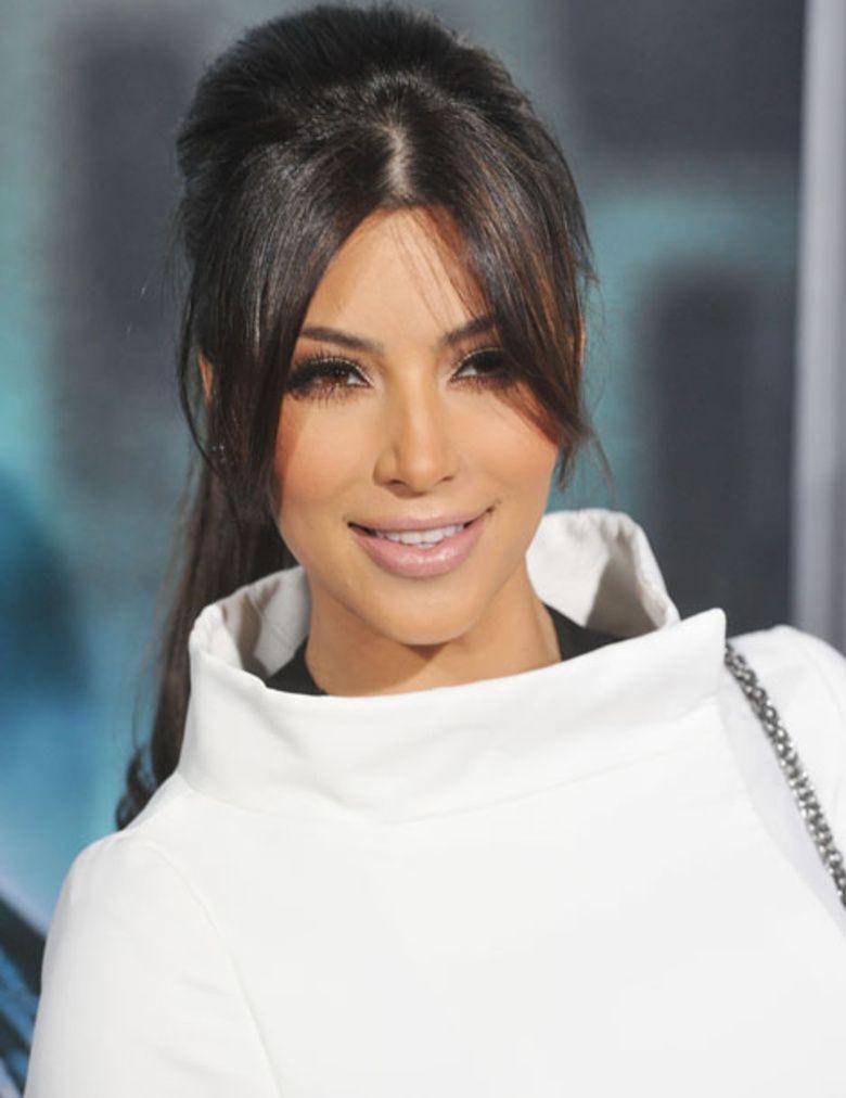 Kim Kardashian Kim Kardashian Queue De Cheval Et Queue