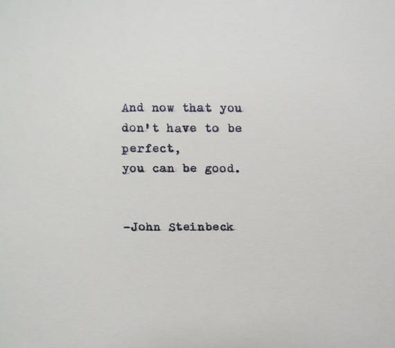 John Steinbeck East of Eden Quote Made on Typewriter - #East #Eden #John #Quote #quotes #Steinbeck #Typewriter