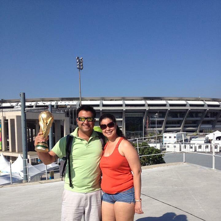 Estadio Maracanã, Rio de Janeiro, Brasil. Aquí para el World Soccer Cup 2014.   You don't need magic to disappear. All you need is a destination.