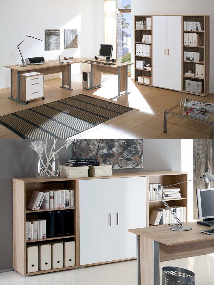 Arbeitszimmer Büromöbel Büroeinrichtung Büro komplett OFFICE LINE ...