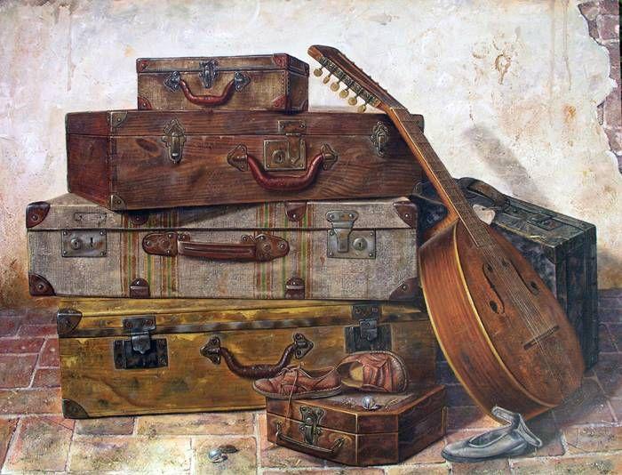 Maletas proyectos que intentar pinterest maletas for Maletas antiguas online