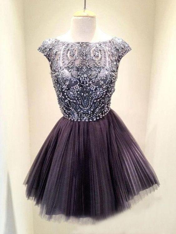 Tüll Abschlusskleider Abiballkleider Kurz | dresses | Pinterest ...
