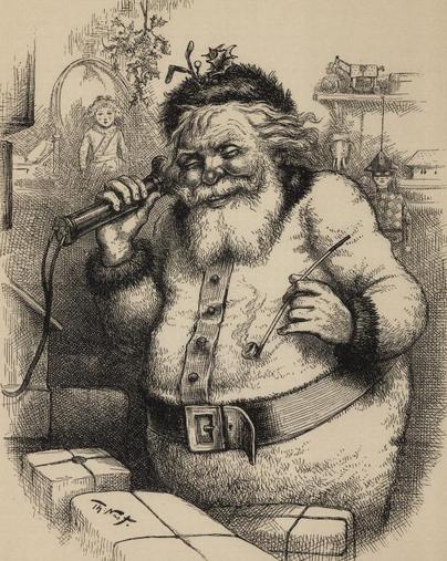 Santa S New York Roots Weihnachten Zeichnung Weihnachtsbild Bilder