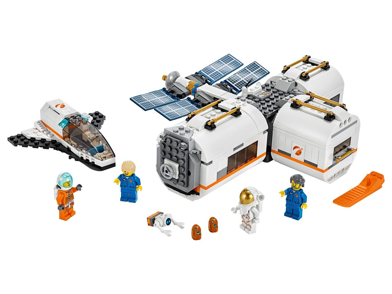 Dieses Raumstation Spielset Regt Zu Erkundungsmissionen Im Weltraum An Lego City Space Lego City Lego Space