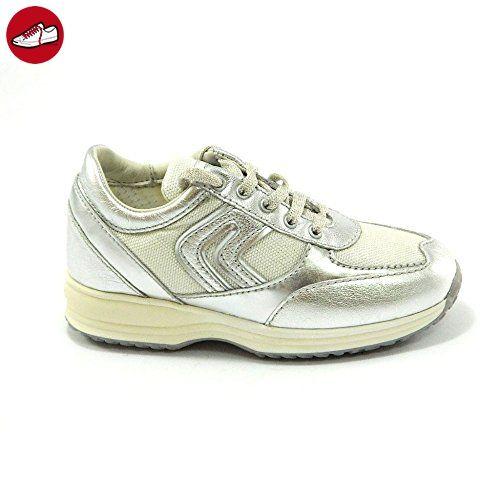 Geox - Geox scarpe J Happy G Q - Silber, 32 - Geox schuhe (*Partner-Link)