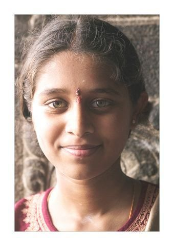 Young Indian Girl Jeune Fille Indienne