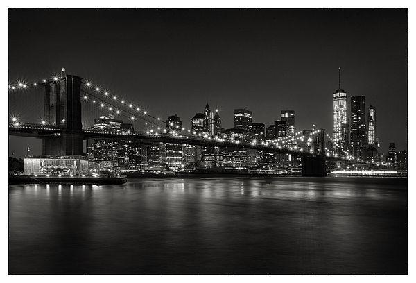 Brooklyn Bridge Wallpaper Black And White
