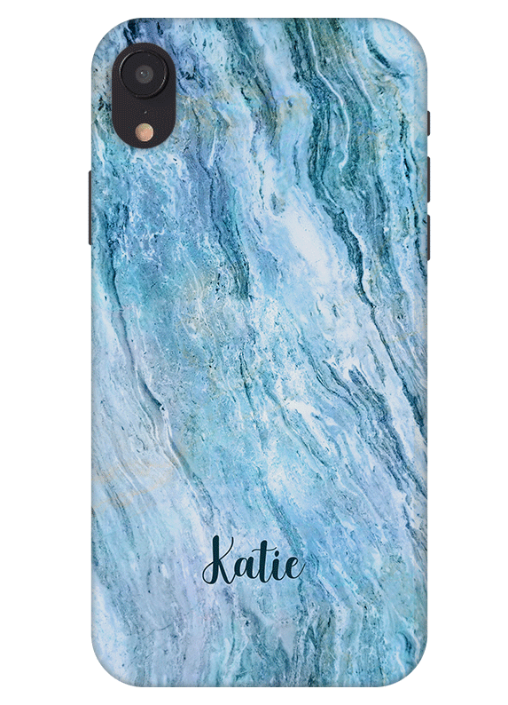 Blue Marble Iphone Xr Case Personalize Iphone Case With Name