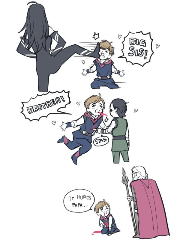 Technically Thor never met Hela until he was grown, but