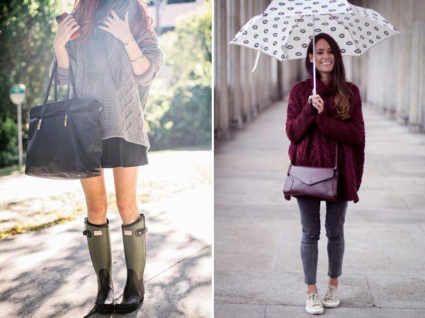 Как выглядеть стильно в дождь и непогоду