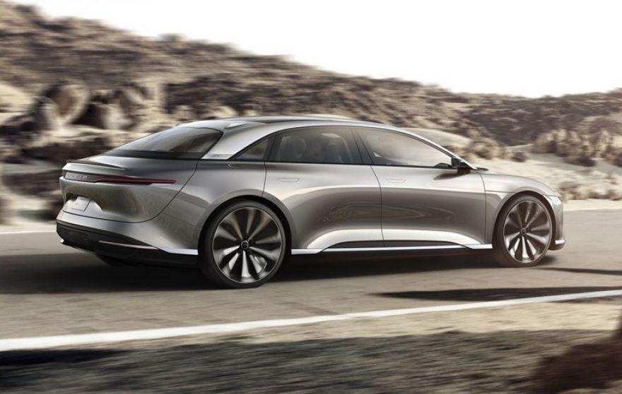 Lucid Motors Reveals Tesla Fighting Electric Air Cars