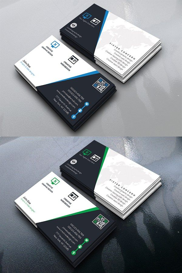 Free Creative Center Business Card | Business Card | Pinterest ...