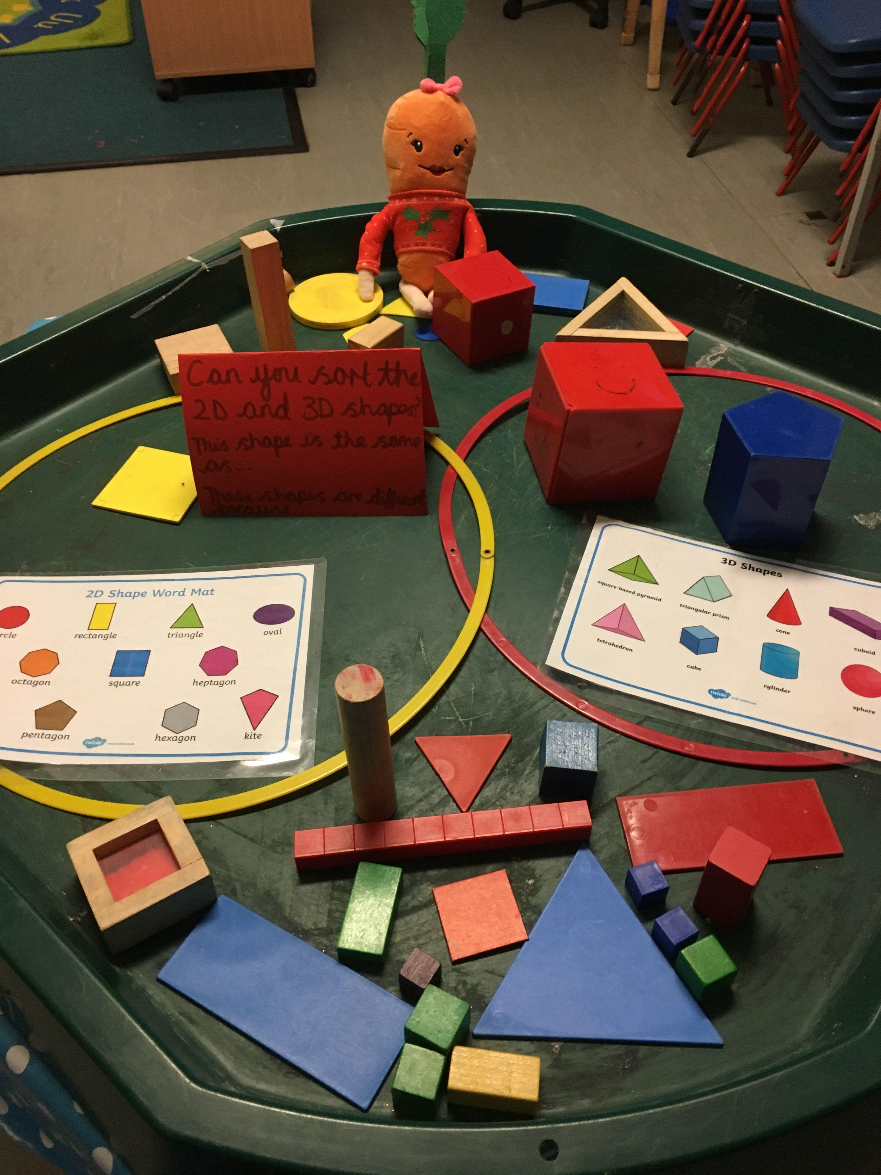 Shape Sorting Activity Eyfs Maths