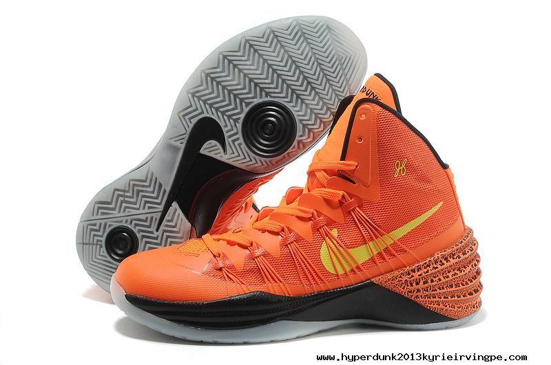 new style 607d0 1dbc3 2014 Orange Black Nike Hyperdunk 2013 For Christmas