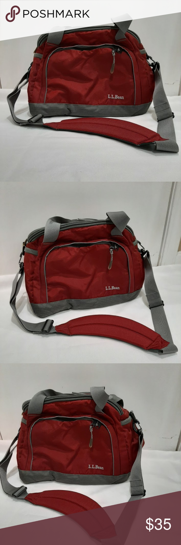 Ll Bean Shoulder Strap Luggage Travel Bag Nwot Up For Sale Is A New Without Tags L L Bean Shoulder Strap Compact Carry On Trave In 2020 Bags Travel Bag Travel Luggage