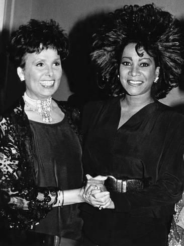 Photographic Print: Patti Labelle, Lena Horne, April 11 Poster by Maurice Sorrell : 24x18in