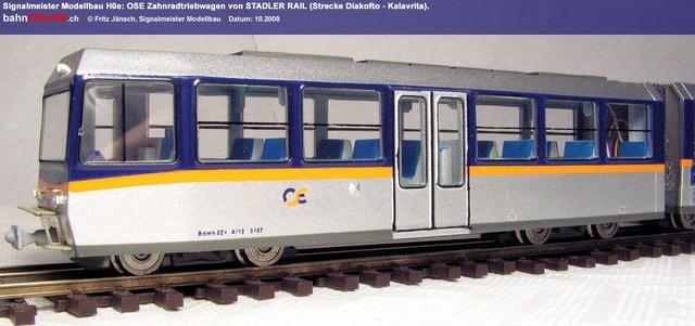 STADLER-Zahnradtriebwagen H0e Signalmeister 4443_05