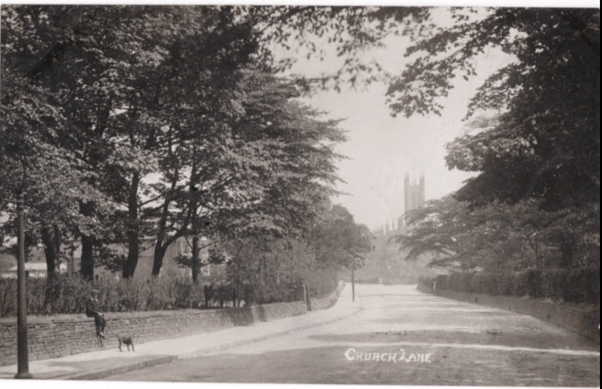 Radcliffe Church Lane Ringley Road Lancashire 1912