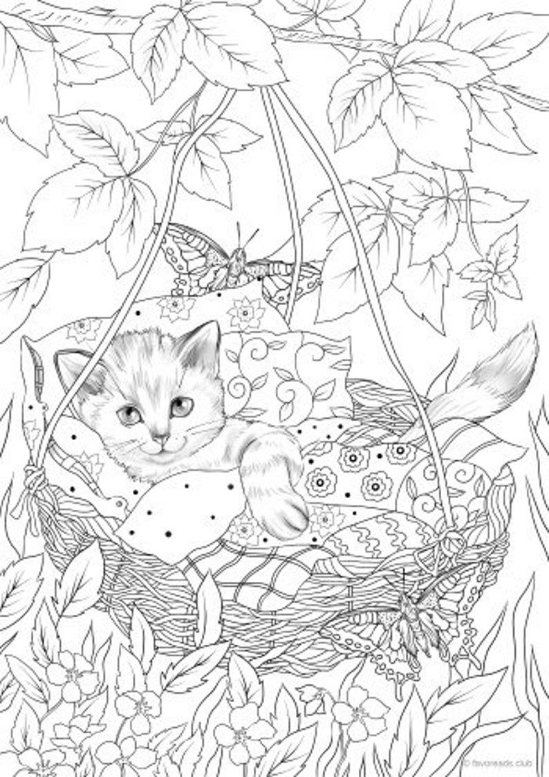 Cradle Printable Adult Coloring Page From Favoreads Coloring
