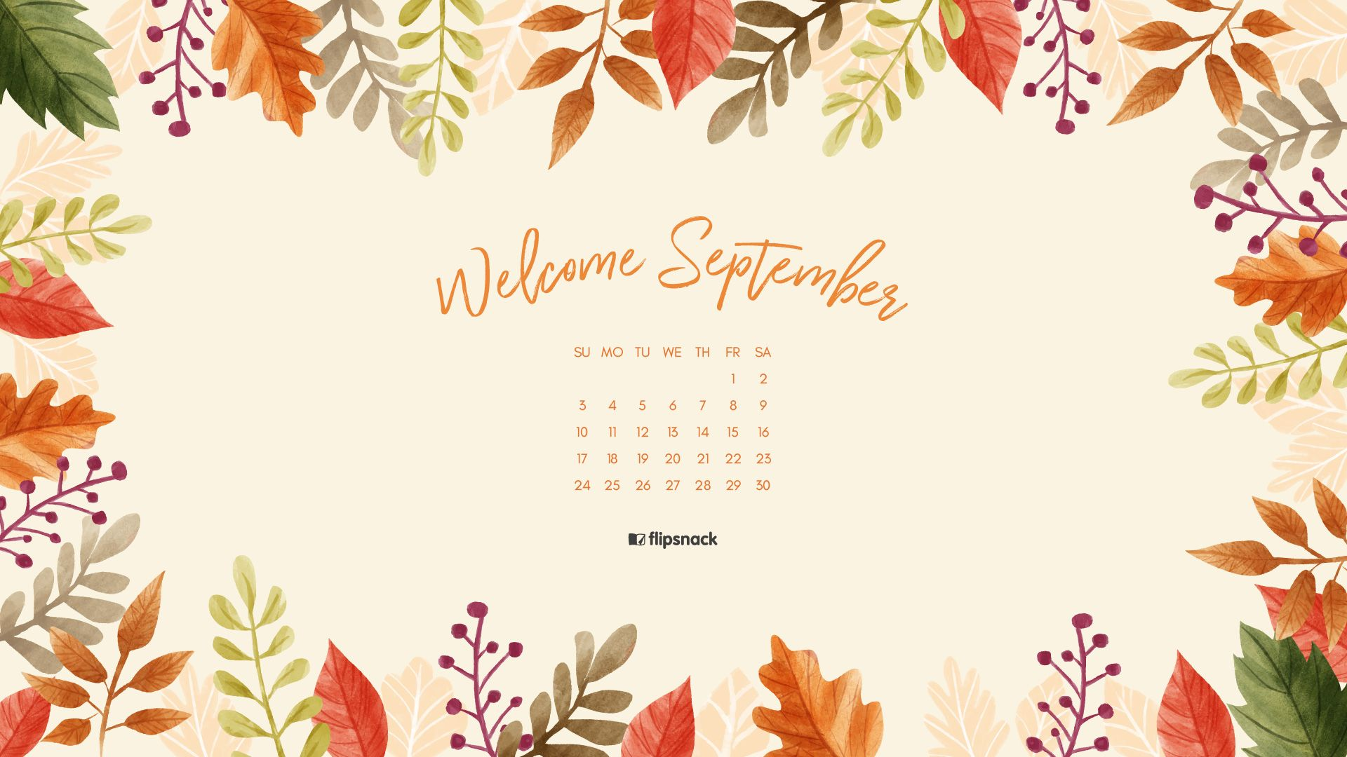 Your September 2017 Calendar Wallpaper Is Here Get It Calendar Wallpaper Desktop Wallpaper Calendar Spring Desktop Wallpaper