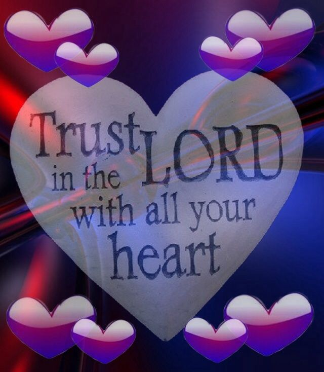 Proverbs 3:5-6 - Trust in the LORD with all your heart❤️