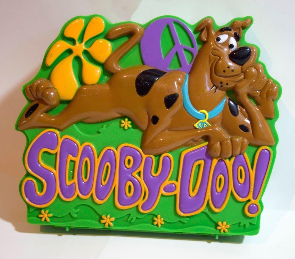 Vintage 1998 Hanna Barbera Scooby Doo Toy Card Puzzle Case