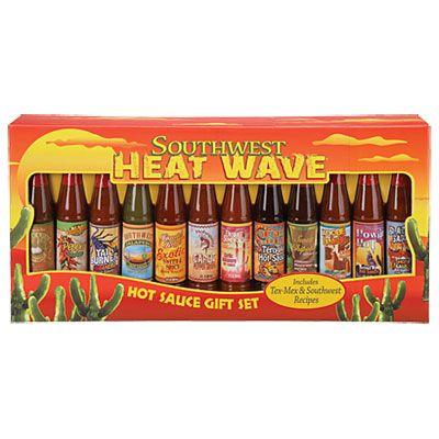 Big Lots Southwest Heatwave Hot Sauce Gift Set, 12-Pack at Big ...