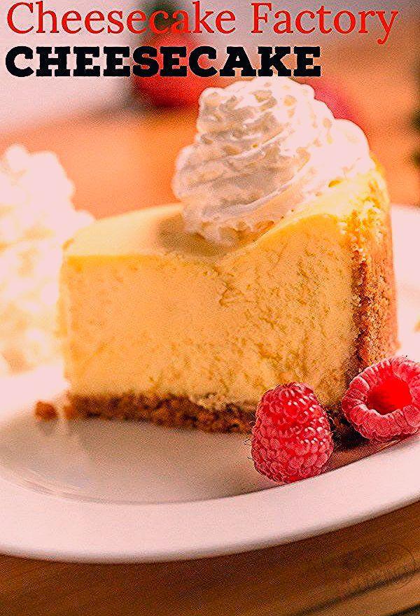 EASY Cheesecake Recipe (Cheesecake Factory Copycat) #cheesecakefactoryrecipes