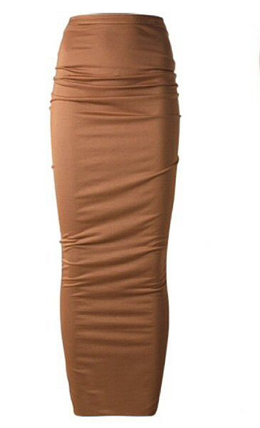 0a250b1312 Chocolate Ankle Length Pencil Skirt – KarensClosetNY | Clothing ...