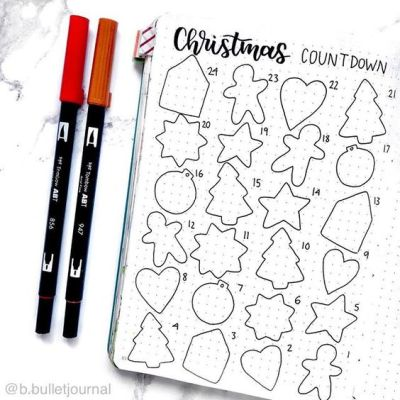 21 Christmas Bullet Journal Ideas For December - Its Claudia G