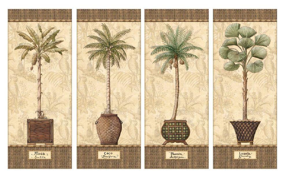 Dorable Tropical Wall Decor Motif - Art & Wall Decor - hecatalog.info