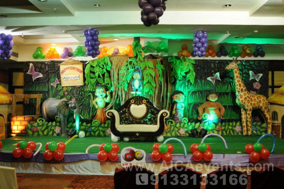 Chota Bheem Theme Birthday Decorations Theme Decoraters Theme