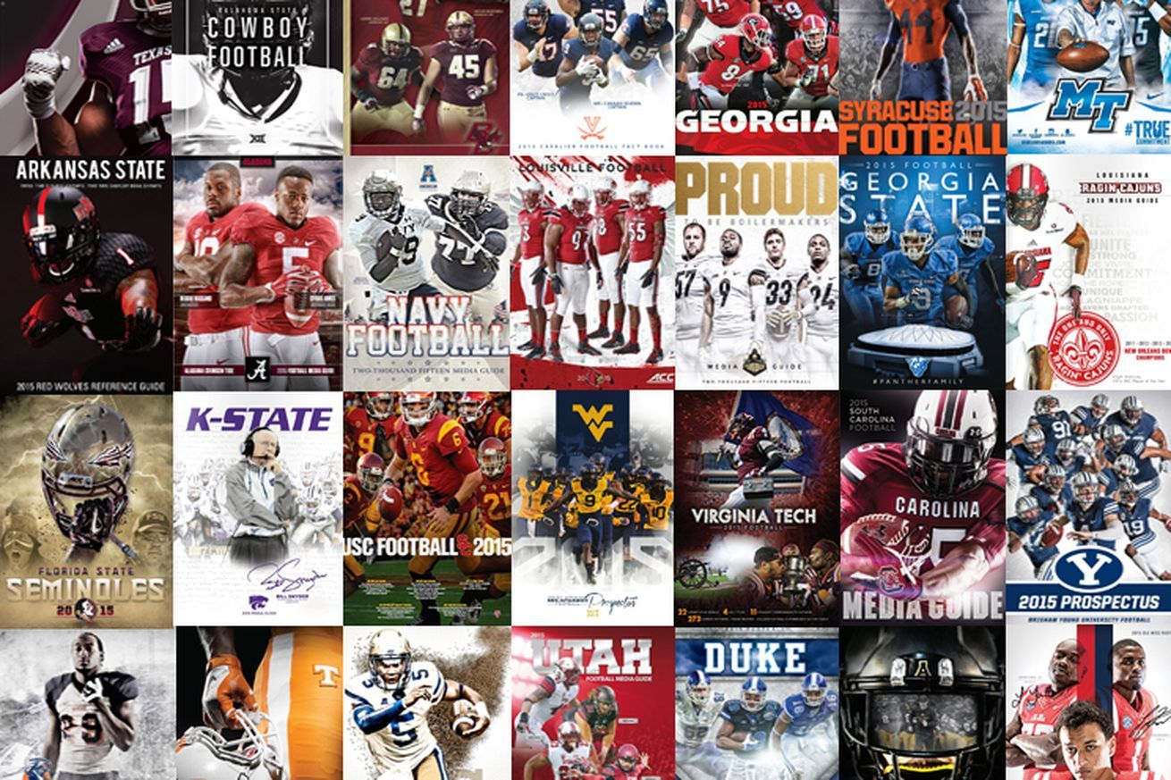 Football Study Hall's Index of the 2015 FBS College