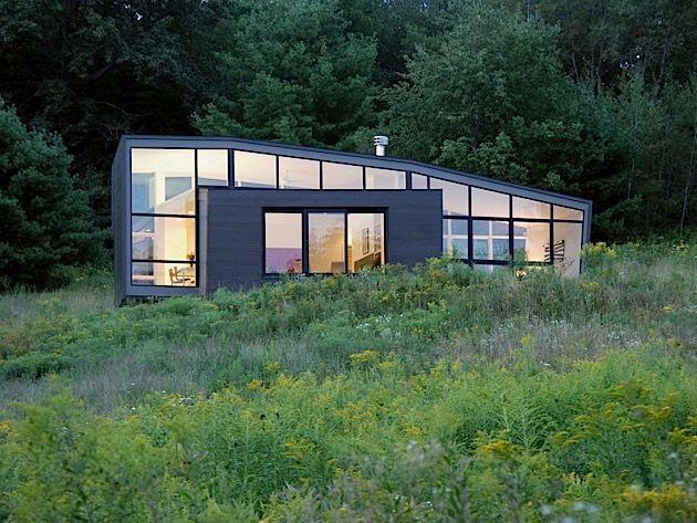 Architektur: Ein Modernes Wochenendhaus Zum Abschalten In Der Natur |  KlonBlog