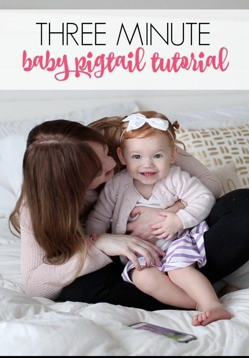 baby pigtail tutorial   baby hairstyle ideas   toddler hairstyle ideas   baby hair tips and tricks   toddler hair products   toddler hair tutorials   kids pigtail tutorial   kids hair styles   kids hairstyle ideas