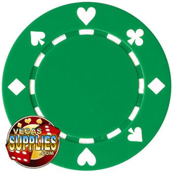 Suited Poker Chips $.19 x 100 = $19 + $75 fee