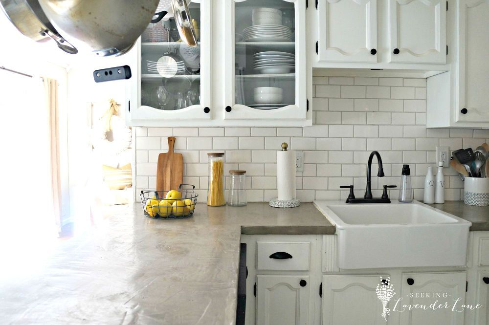 Diy Ardex Feather Finish Counters Kitchen Remodel New Kitchen