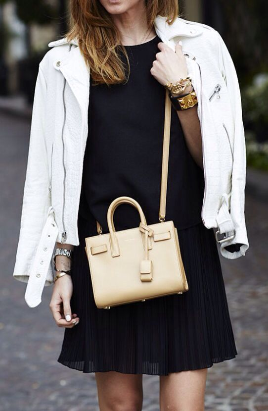 Pin By The Beauty Look Book On Fashion Inspiration Fashion Street Style Bags Saint Laurent Bag Mini