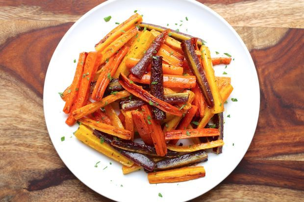Picture of how to roast carrots