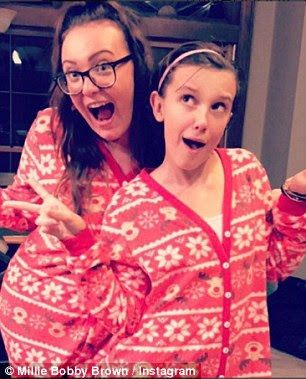 millie bobby brown with her sister, Cool Pic