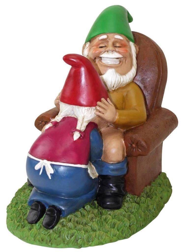 dirty garden gnomes