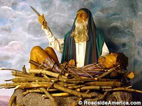 El Padre De La Fe Abraham A Punto De Sacrificar A Su Hijo Isaac