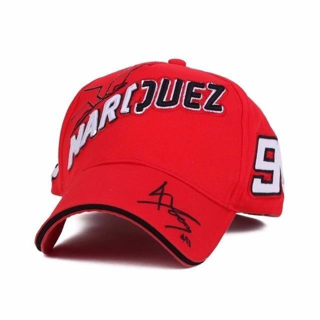 Marc Marquez 2019 93 MotoGP Trucker Style Baseball Cap Ant Logo Adult One Size