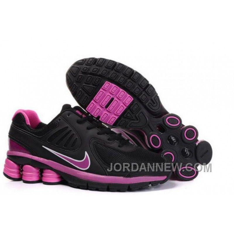 Women's Nike Shox R6 Shoes Black/Pink Online, Price: $75.29 - Air Jordan