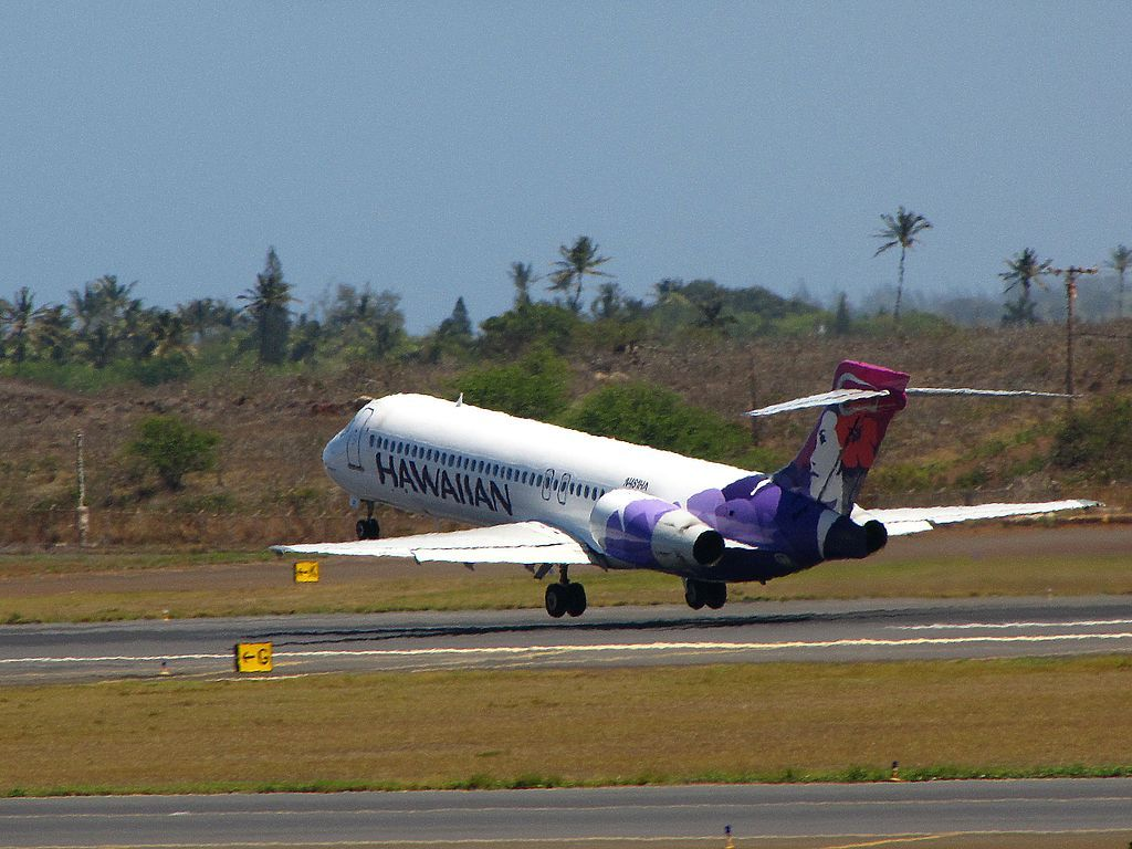 Hawaiian Airlines Fleet Boeing 717 22A cnserial number